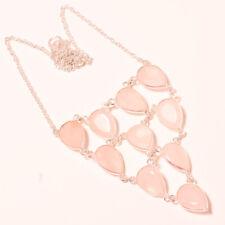"""Jewelry Necklace 18"""" Pus-112 Rainbow Moonstone Gemstone Fashion Ethnic"""