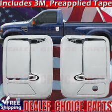 1999-2016 FORD F250 F350 F450 F550 SUPERDUTY Chrome Door Handle COVERS W/Out PSK