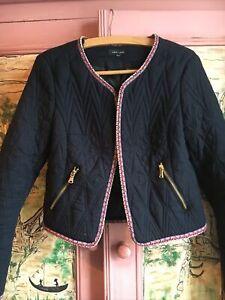Boho Hippy Quilted Jacket 10 12 Artisan Folk