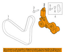 Buick GM OEM 2015 Regal-Serpentine Fan Belt Tensioner 12663047