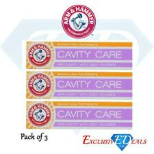 Arm & Hammer Cavity Care Toothpaste Daily Fluoride Protection Break Plaque x 3