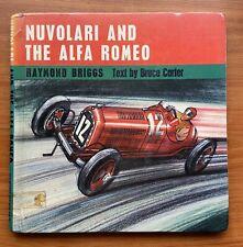 Nuvolari And The Alfa  Book Raymond Briggs Art Brochure Brooklands VSCC Romeo