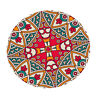 """47"""" Bohemia Decorative Tablecloths Round Elastic Fitted Table Cloths Covers"""