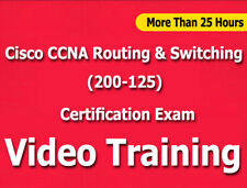 Cisco CCNA Routing & Switching (200-125) Video Training Tutorials cbt -25+ Hours