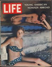 LIFE July 19,1968 Young American Nomads / Abercrombie & Fitch / Tourist Trade