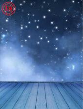 Blue Star Pavimento NOTTE BABY Sfondo Sfondo in vinile foto di scena 5X7FT 150X220CM
