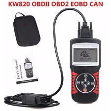 KW820 OBDII OBD2 EOBD Car Fault Code Scanner Vehicle Engine Diagnostic Scan Tool