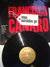 RARO TANGO LP 33 FRANCISCO CANARO TEMAS INOLVIDABLES ODEON 4028 VG/EX 1967