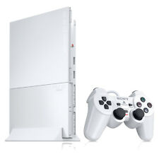 Sony PlayStation 2 Slim Launch Edition Ceramic White Console