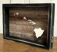 """HAWAII State """"Favorite Place"""" Primitives by Kathy Box Sign, 7.75"""" x 10.75"""""""