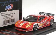 """FERRARI 458 ITALIA GT2-AM #58 LeMans 2012 """"LUXURY RACING""""  by BBR BBR430C95"""