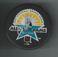 John Vanbiesbrouck Signed 1997 All Star Game Puck Florida Panthers