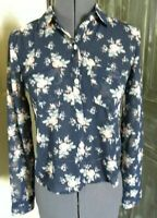 Women's Aeropostale Womens Sheer Floral Button Down Blouse Size XS