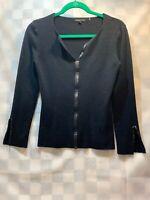 BCBG Maxazria Pullover Women's Black Sweater Size M