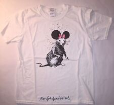Banksy Print Official Dismaland bemusement park collectables T-shirt KAWS BFF
