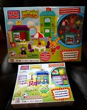Mega Bloks Lot Moshi Monsters 80622 Gross-Ery and 80631 Ooh La Lane NISB