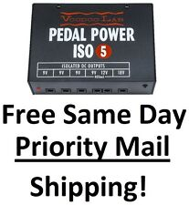 New Voodoo Lab Pedal Power ISO 5 Guitar Effect Pedal Power Supply Rebate Applied