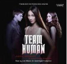 Team Human Justine Larbalestier Unabridged AUDIO BOOK CD vampires love romantic