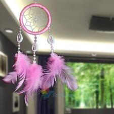 Large Handmade Dream Catcher With Feathers Car Wall Hanging Decoration Ornament#