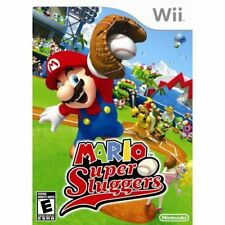 Mario Super Sluggers For Wii Baseball Game Only 3E