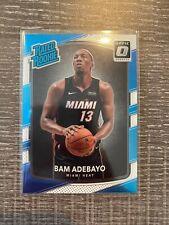 2017-18 Panini Donruss Optic Bam Adebayo Rookie RC  #187 Rated Rookie Miami Heat