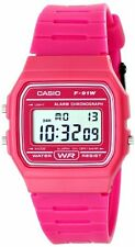 Casio Kids F-91WC-4ACF Classic Digital Display Quartz Pink Watch