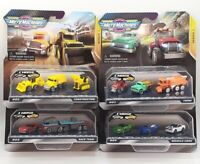 Micro Machines Starter BUNDLE Cars Series 1 - Construction Race Muscle Farm Pack