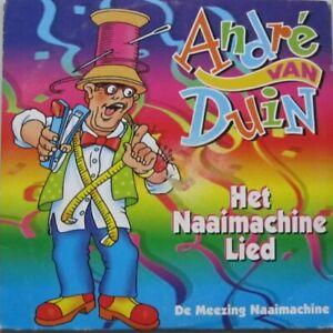ANDRE VAN DUIN - HET NAAIMACHINE LIED   -  CD-single  - CARDBOARD