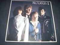 PRETENDERS II LP Portugal Import NM 1981 REAL RECORDS original inner sleeve