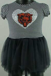 Chicago Bears NFL Youth's Short Sleeve Shirt with attached Skirt