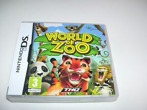 World of Zoo * NINTENDO DS GAME *