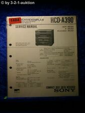 Sony Service Manual Hcg A390 Component System (#1484)