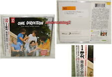 One Direction Live While We're Young Taiwan CD+folded poster w/OBI