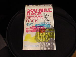 GORGEOUS 1973 Indianapolis 500 Record Book/Media Guide, MINT!!