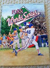 Official World Series Program 1988