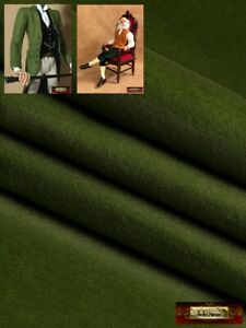 M00436-Try MOREZMORE Thin Felt for Puppet Clothes OLIVE GREEN Fabric Soft Rayon