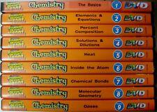 o'o'o . LOT of 9 CHEMISTRY Standard Deviants Dilution Heat Bonding Gases Element