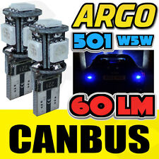501 5 Smd Led libre de error Canbus Azul sidelight Bulbos Bmw X6