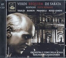 VERDI : MESSA DA REQUIEM - VICTOR DE SABATA / 2 CD-SET - NEU