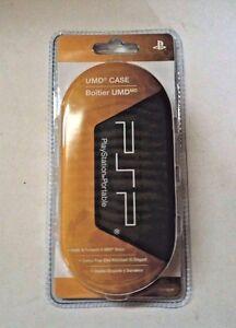 NEW OEM Genuine Playstation Portable PSP UMD Case Holds 8 UMD Discs      Z4