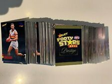2020 AFL SELECT PRESTIGE FOOTY STARS FULL BASE COMMON OF SET 199 (1TO 199) CARDS