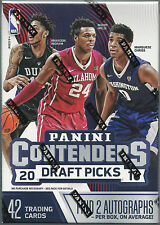 2016-17 Panini Contenders Draft Picks Basketball Trading Cards Blaster Box