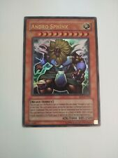 Yu-Gi-Oh Andro Sphinx EP1-EN002 Light Play