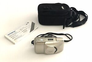 Olympus Stylus Epic Zoom 170 Film Camera With Case & Manual
