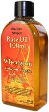 Pure Wheatgerm Oil Carrier Oil 100ml Massage & Skin Care Triticum Vulgare.