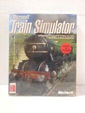Microsoft Train Simulator, PC, Neuf sous Blister, FR, Rare/Vintage