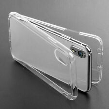 For iPHONE X XSMAX XR 8 7 6 PLUS Case 360 Full Cover Silicone Front and Back TPU