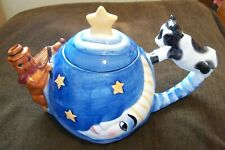 DesignPac Teapot Hey Diddle Diddle the Cat & the Fiddle Cow Jumped Over the Moon