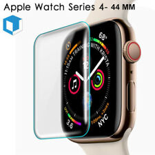 For Apple Watch Series 4 44MM 3D Full Cover Tempered Glass Screen Protector Film