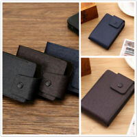 PU Leather Organ Credit Card Package Wallet Change Cash Coins Holder Purse